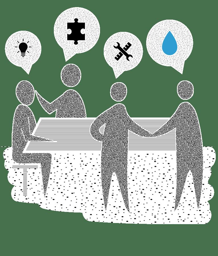 3. Partnerschap als watermerk.