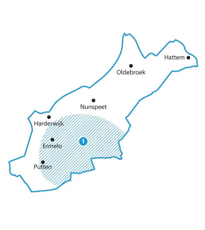 Sleutelgebied Noord Veluwe: vergroten van de zoetwatervoorraad op de Veluwe